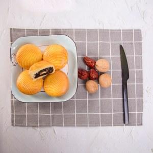 蛋月烧红枣核桃月饼