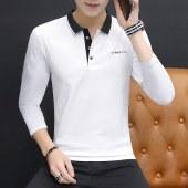 柒腾秋季男士长袖polo衫-BYF128