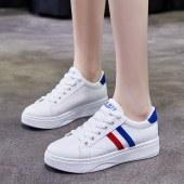 更朵新款女休闲运动小白鞋  YCS21