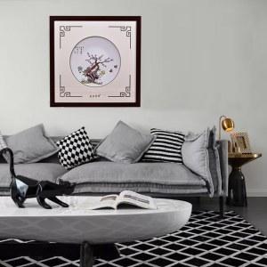 雅戈阑 客厅装饰画风景画沙发背景画中式简约装饰画北卧室墙画
