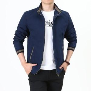 男士外套2020秋冬季休闲夹克男装立领HMT1021