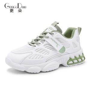更朵新款女鞋运动透气老爹鞋YC301