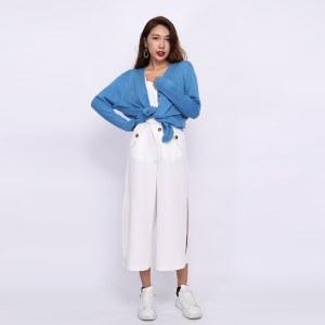 30%羊毛混纺春秋款舒适开衫