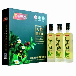 【金凤神】天然茶籽油