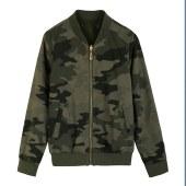 衣纯华菲  秋冬新款双面穿棒球服女装外套夹克6903