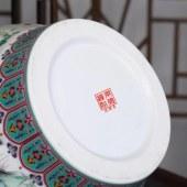 景德镇精品珐琅彩(鬼谷子下山)罐瓶