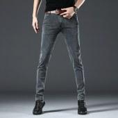 2020新款男士商务加绒直筒休闲牛仔裤MJ8913