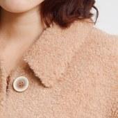 羊绒毛呢大衣