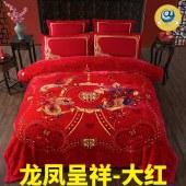 婚庆拉舍尔毛毯