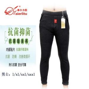 纳米抗菌暖美裤男款