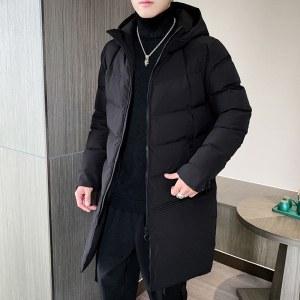 柒腾秋冬男款棉衣中长款外套-YFM013