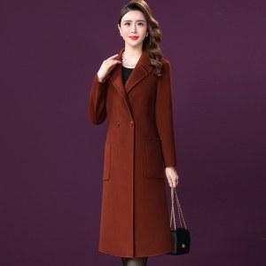 新款羊毛呢子韩国秋冬季大衣