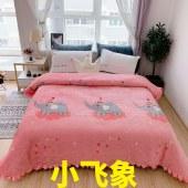 牛奶绒多功能夹棉床盖