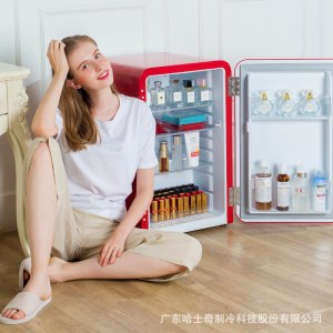 小冰箱迷你冰箱复古冰箱单门  BC-70R