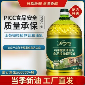 山茶橄榄油食用植物调和油