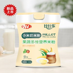 小米奶米粉果蔬多维营养米粉