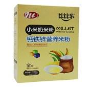 小米奶米粉钙铁锌营养米粉