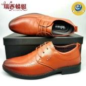 瑞西蜻蜓男商务皮鞋