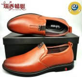 瑞西蜻蜓男休闲皮鞋