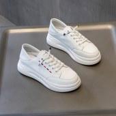 201佰丽秘密真皮小白鞋