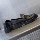 1682-3佰俪秘密真皮乐福鞋