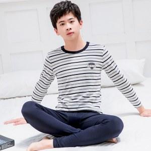 学生秋衣秋裤男套装