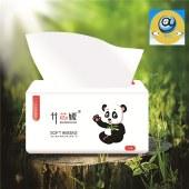 竹芯媛亲肤生态竹木浆抽纸18包装