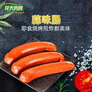龙大蒜蓉肠420g*3包