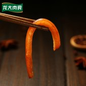 龙大食品滋滋香香卤猪皮30g*8袋