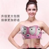 胸部按摩器疏通乳腺热敷经络揉捏
