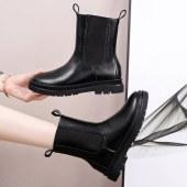 真皮马丁靴靴子女英伦风短靴鞋子YJ188