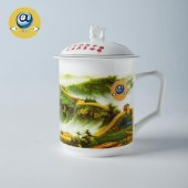 景德镇(共圆中国梦)办公茶杯