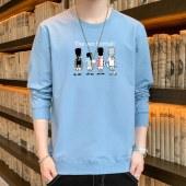 2021款男士春秋新款纯棉卫衣高品质 HX8810