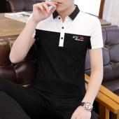 高品质95棉春夏男士短袖POLO衫7202