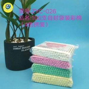 100支袋装木棒棉签