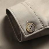 太子龙男士翻领夹克衫2021新款春秋短款纯色休闲外套BB702