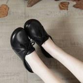 时尚真皮女鞋头层牛皮四季可穿