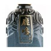 鹿鸣蓝色金盖清香型白酒