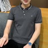 2021夏款纯棉商务百搭男士短袖POLO衫-BYFT152