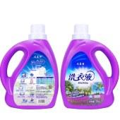 【超值4瓶装】达蓝雅2kg薰衣草香洗衣液