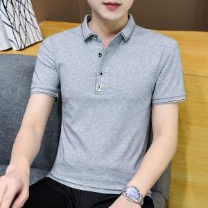 2021夏季新款纯棉男士短袖POLO衫-BYFT166