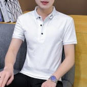 2021夏季新款休闲男士短袖POLO衫-BYFT154