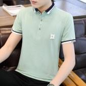 夏款纯棉时尚简约男短袖POLO衫-BYBL1962