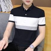 2021夏季新款男纯棉短袖POLO衫A347-T168