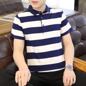 2021夏季新款纯棉男短袖衫8816