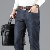 爆款男士商务休闲牛仔裤