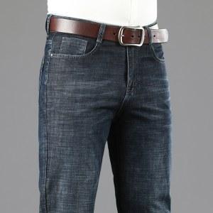 新款商务风男士牛仔裤