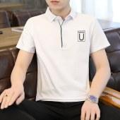 2021夏季新款男纯棉短袖POLO衫8839
