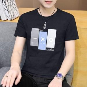2021夏季新款男圆领纯棉T恤衫A347-T170