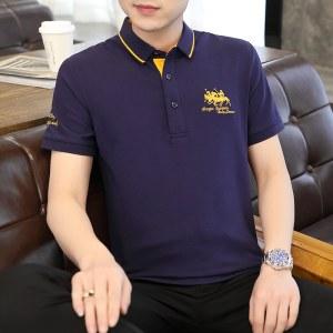 2021夏季新款男商务短袖POLO衫8865